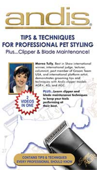 VHS Clipping Tips and Techniques for Professional Pet Styling Lehr-Video Englisch!