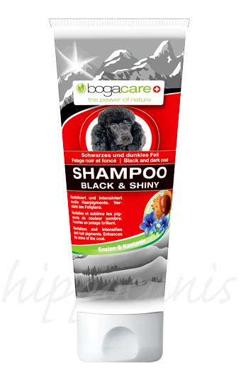 bogacare®Shampoo BLACK AND SHINY 250ml - (6,56 EUR/100ml)