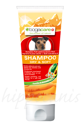 bogacare®Shampoo DRY AND SOFT 250ml - (6,56 EUR/100ml)