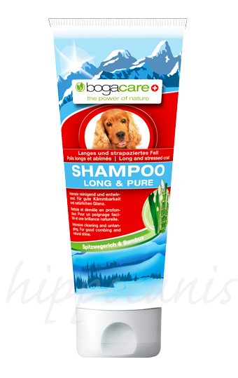 bogacare®Shampoo LONG AND PURE 250ml - (6,56 EUR/100ml)