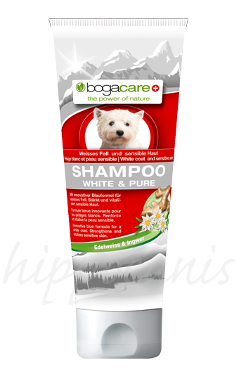 bogacare®Shampoo WHITE AND PURE 250ml - (6,56 EUR/100ml)