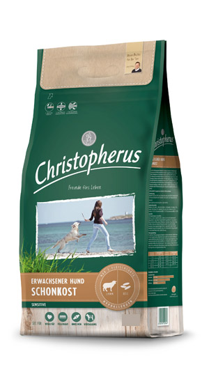 Christopherus Sensitive / Schonkost Lamm & Reis VE1 1,5 kg - (8,19 EUR/kg)