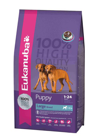 Eukanuba Puppy Large Breed - 15kg (2,66 EUR/kg)