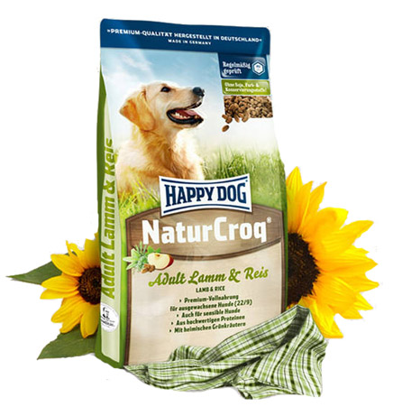 Happy Dog NaturCroq Lamm & Reis 15 kg - (2,00 EUR/kg)